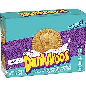 Dunkaroos, Vanilla Cookies and Vanilla Frosting, 6 ct, 9 oz