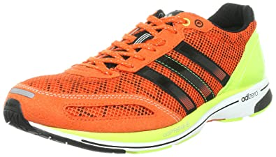 huge selection of e7059 8b7e8 adidas Mens adiZero Adios 4 Running Shoes, Orange, ...