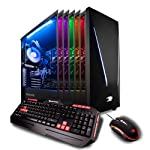 iBUYPOWER Gaming PC Desktop Trace 9220 Liquid Cooled Overclockable i7-8700K, NVIDIA Geforce RTX 2070 8GB, Z370...
