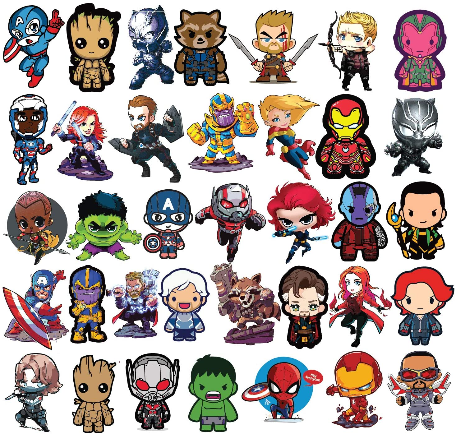 Avengers 9 Stickers 3 Stickers FREE GIFT NEW Thor for Laptop Tablet Pad