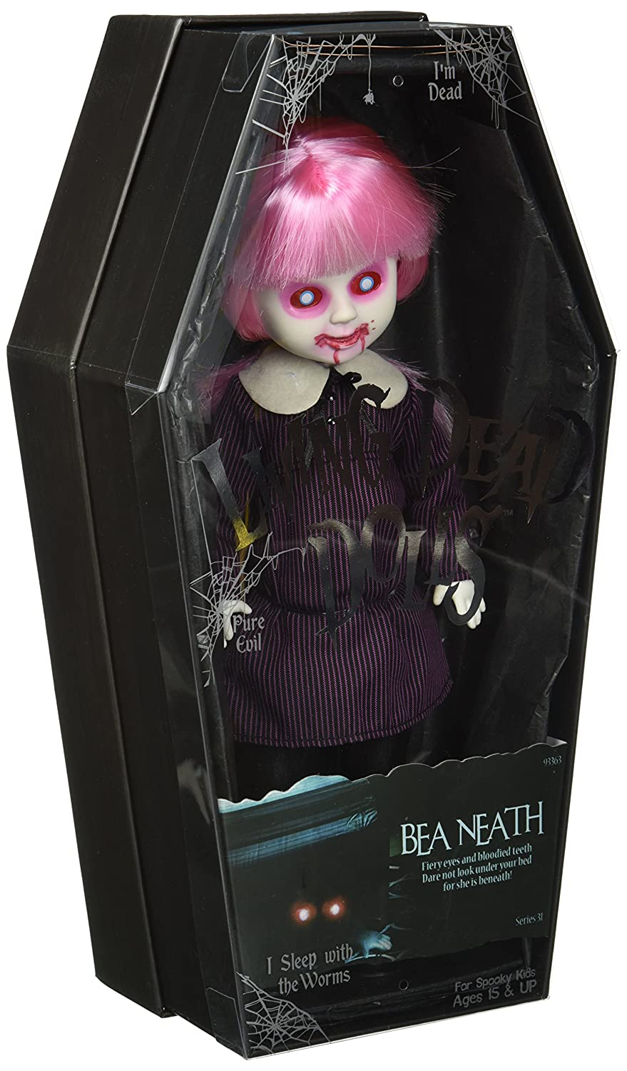 "Living Dead Dolls Series 31 Bea Neath 10.5"" Doll by Living Dead Dolls"