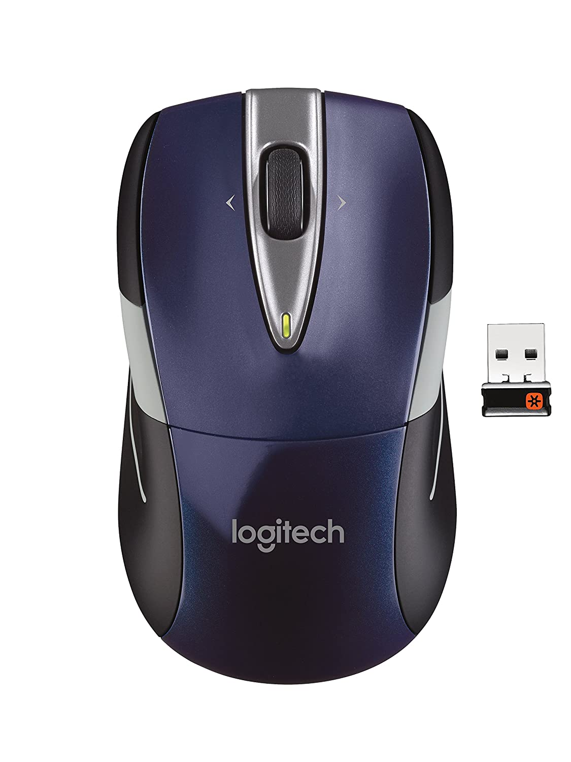 Logitech Wireless Mouse M525 - Navy/Grey