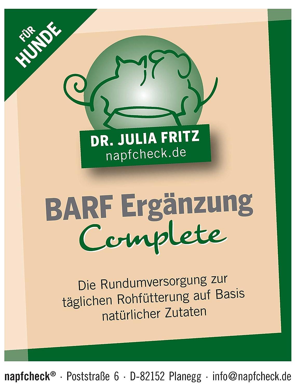 napfcheck Barf Ergänzung Complete - Hund - 500 g: Amazon.de: Haustier