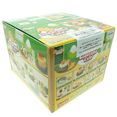 Re-ment Gudetama Cafe Egg Dishes Miniature Full Set Box (Set of 8): Toys & Games