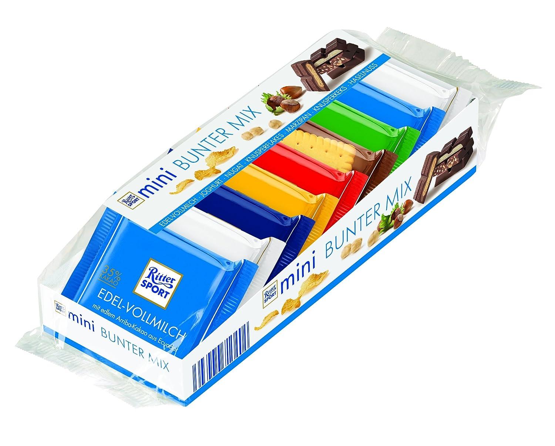 Ritter Sport - Mini Knackig Bunter Mix - Surtido de Chocolates - 9 x 16.67 g: Amazon.es: Alimentación y bebidas