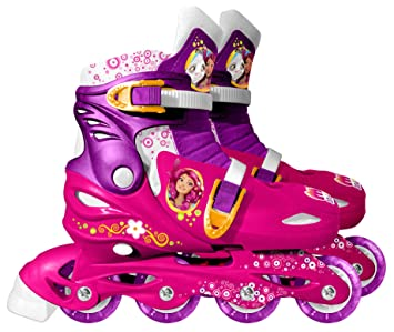 Stamp Patines infantiles Mia And Me, tamaño ajustable de 30 a 33 (STAMI180302)