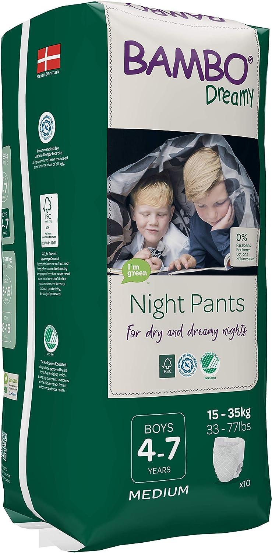Bambo Nature Dreamy Boy Pantalon de nuit de 4 /à 7 ans Taille S//M 0,48 kg