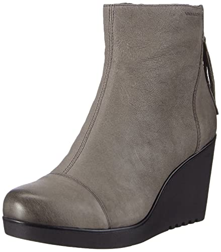 0c34568e8d Vagabond Women's Valencia Cold Lined Classic Boots Short Length Gray ...
