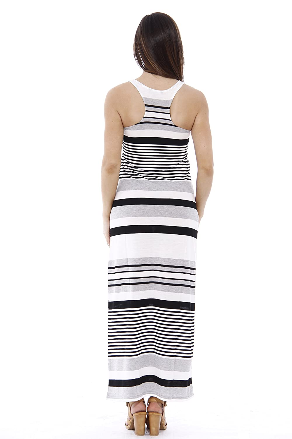 934982aa7a49b0 Just Love Racerback Maxi Dress Summer Dresses for Juniors at Amazon Women s  Clothing store