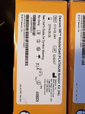 Amazon Com Cgm Replacement Sensors For Dexcom G4 G5 Health