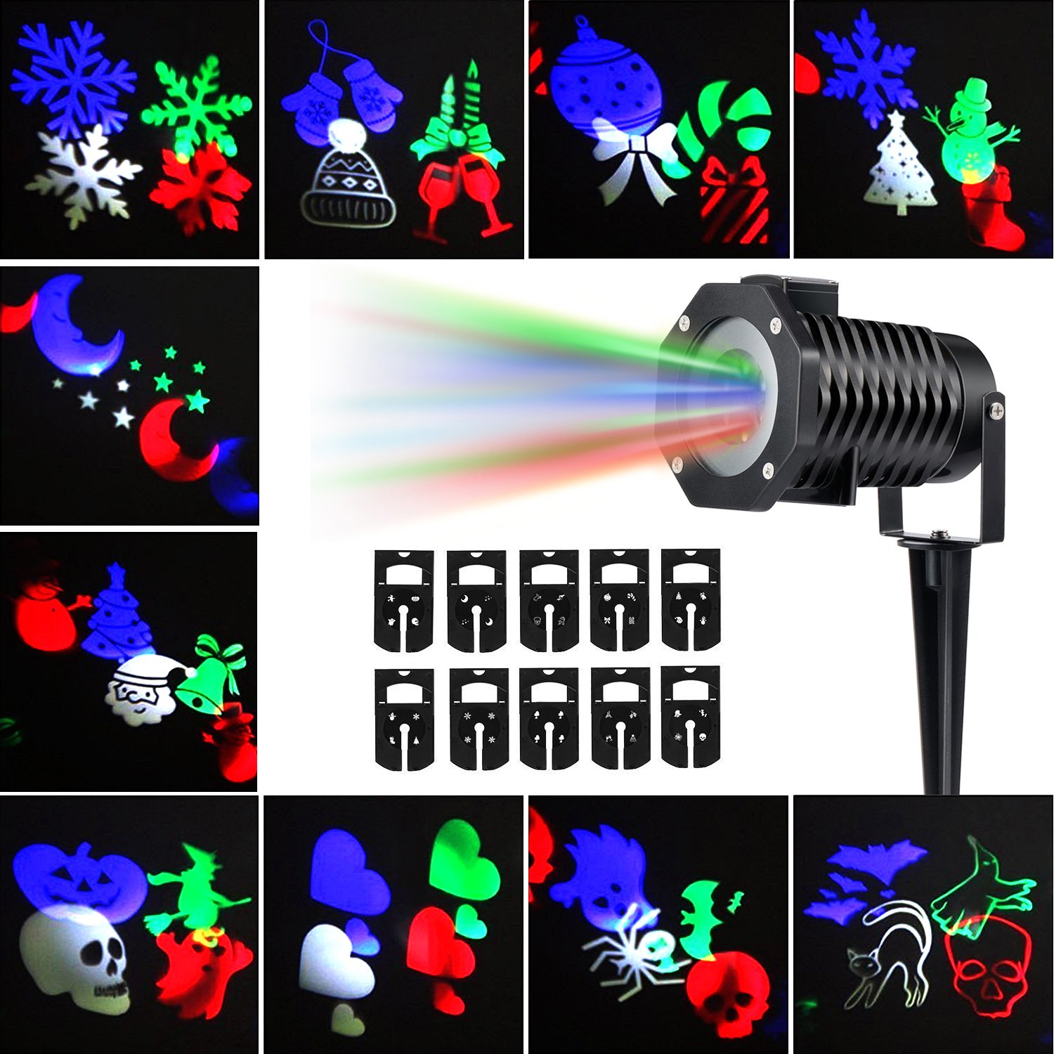 Amazon Christmas Projector Lights Led Projection Light