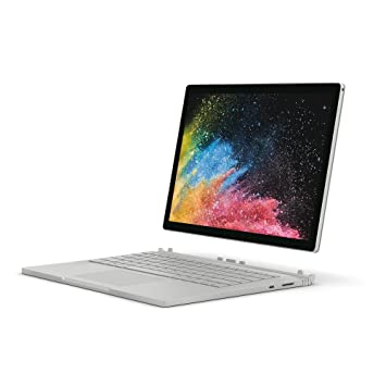 Microsoft Surface Book 2 13 5-Inch PixelSense Display Notebook (Silver) -  (Intel i7-8650U, 16 GB RAM, 512 GB SSD, NVIDIA GeForce GTX 1050 Graphics,