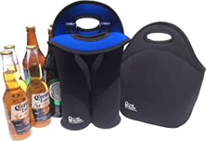 Cold Buddy - Neoprene Wine and Lunch Bags - Insulated and Waterproof Carry Bags
