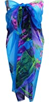 Ladies Beach Sarong Dress Wrap Swimwear Beach Cover Up Scarf Sun Dresses- Various Limited Edition Colours