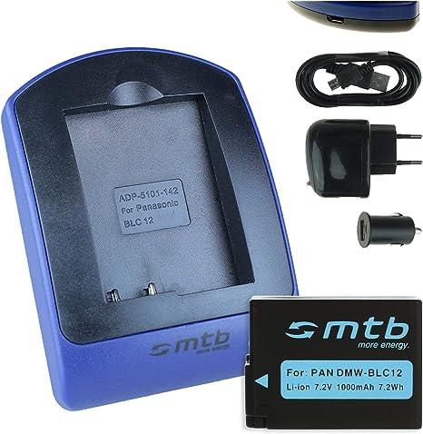 Panasonic DE A80 Ladegerät für BLC 12 | Ladegeräte | Akkus