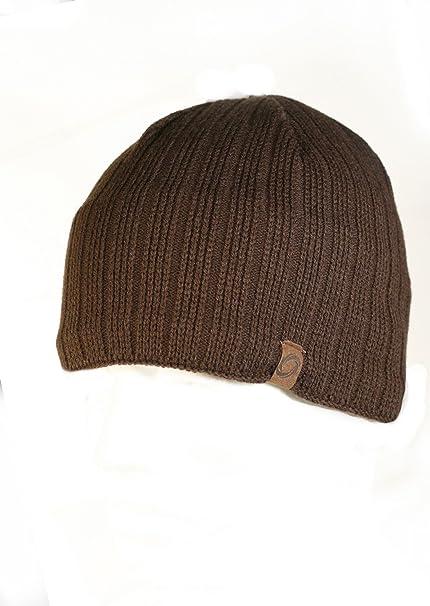 CHAOS Caos Sombreros de Hombre técnico Calibre Fine Gorro, Hombre, Color marrón, tamaño