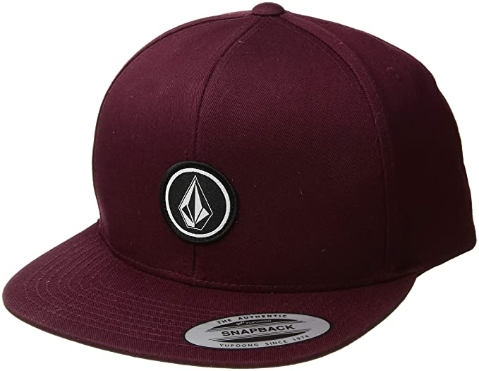 0323972b16693a Volcom Men's Quarter Twill Hat Baseball Cap, Bordeaux Brown, One Size