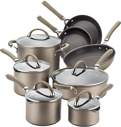 Circulon Premier Professional Stainless Steel, 13 Piece, Brown
