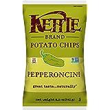 Kettle Brand Potato Chips, Pepperoncini, 8.5 Ounce