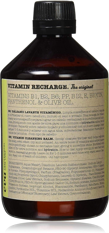 Champú Vitamin Recharge Bálsamo Lavante - Sin Sulfatos - Sin parabenos - Sin Siliconas