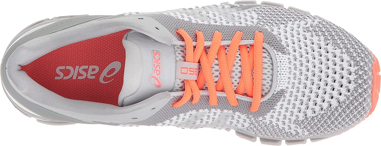 ASICS Women's Gel-Quantum 360 cm Running Shoe B0789RLHB3 6 B(M) US|Knit Mid Grey/Glacier/Coral