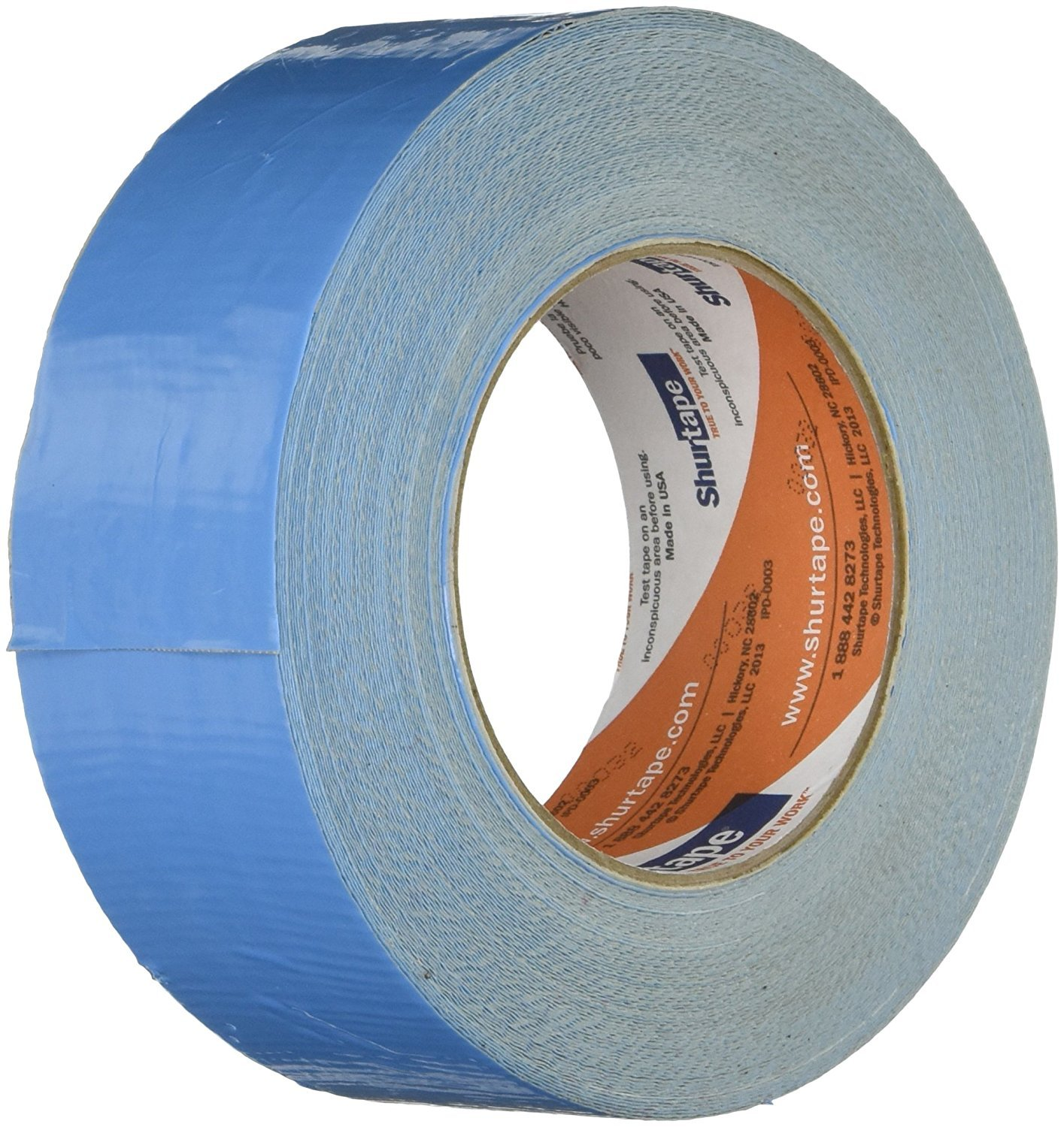 Shurtape DF-545/NAT225 DF-545 Double Coated Cloth Carpet Tape: 2'' x 75 ft, Natural