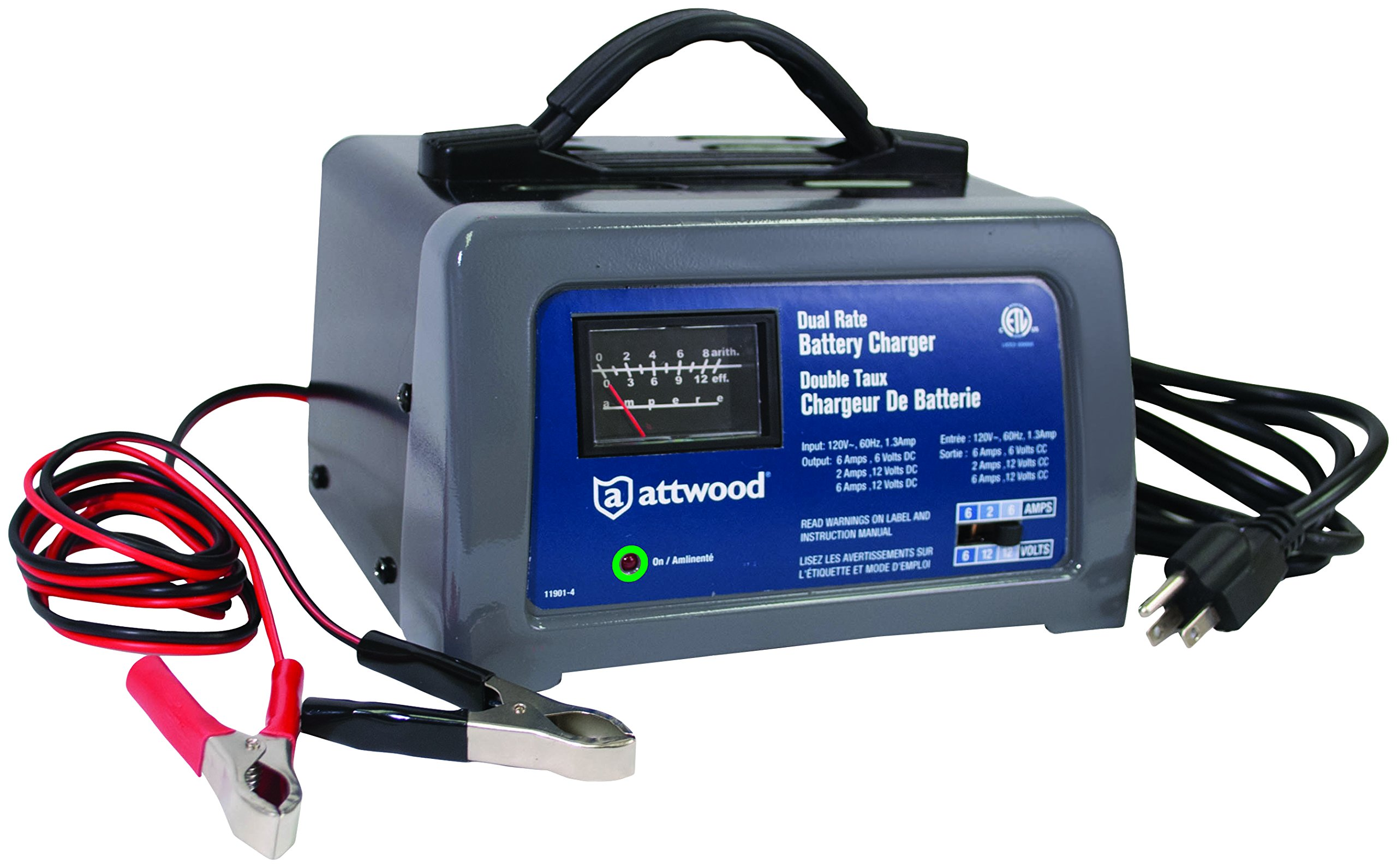 Attwood Battery Charger,