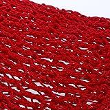 LUOEM Women Hair Net for Sleeping Crochet Hairnet