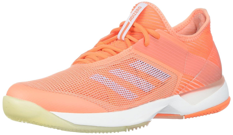 adidas Women's Adizero Ubersonic 3 W Tennis Shoe B072FH4677 8 B(M) US|Chalk Coral/Aero Blue/Hi-res Orange