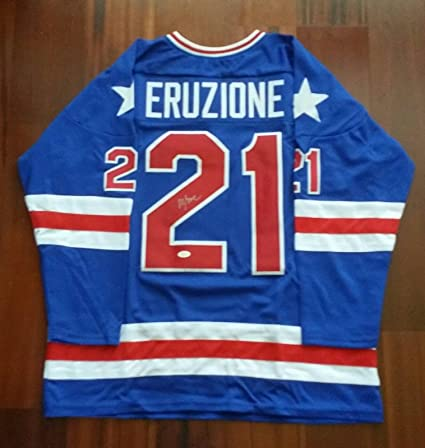 Mike Eruzione Autographed Signed Jersey Team USA - JSA Certified -  Autographed Olympic Jerseys at Amazon s Sports Collectibles Store 30ffb3d2eae