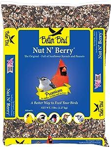 Better Bird, Nut N' Berry Premium 5 lb Poly Bag, Pack of 1