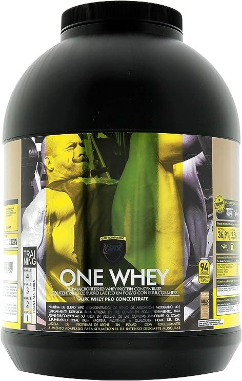 One Whey (4,535 Gr) 10 Lbs Milk Caramel Matriz de Proteínas con Velocidad de Absorción Intermedia
