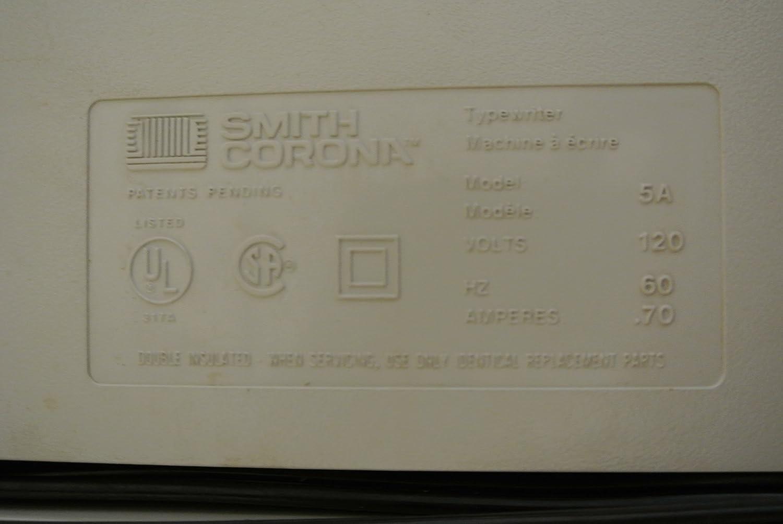 Smith Corona 5A Spell-Right Dictionary Memory Typewriter 400 DLD