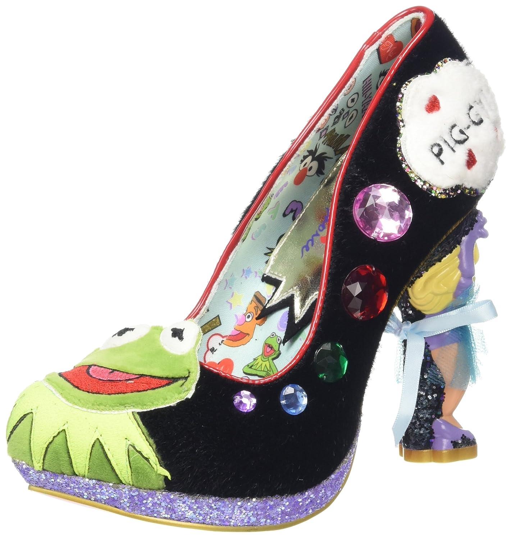Irregular Choice Supercouple - Zapatos de tacón con Punta Cerrada Mujer