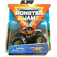 DieCast MonsterJam Wonder Woman 1:64 Scale, 2021 Series 12