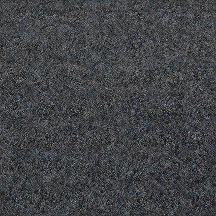 Kunstrasen Fertigrasen in 3 Farbig mit Drainagenoppen Grau 410 cm x 200 cm, Grijs 901