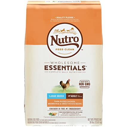 Nutro wholesome essentials large breed adult farm raised chicken nutro wholesome essentials large breed adult farm raised chicken brown rice sweet potato forumfinder Images