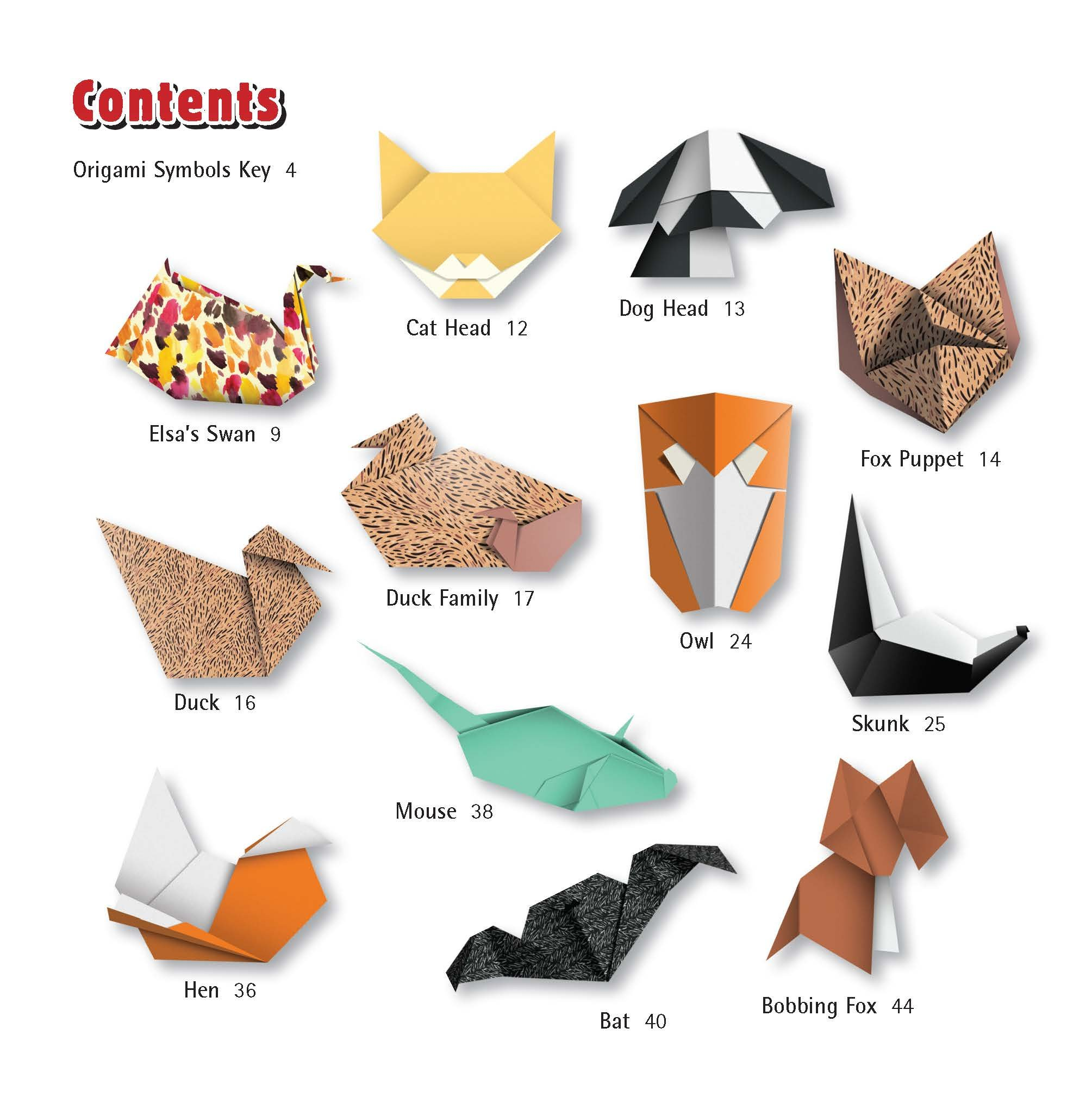 Origami Animals Vector - Download Free Vectors, Clipart Graphics ... | 2029x2009
