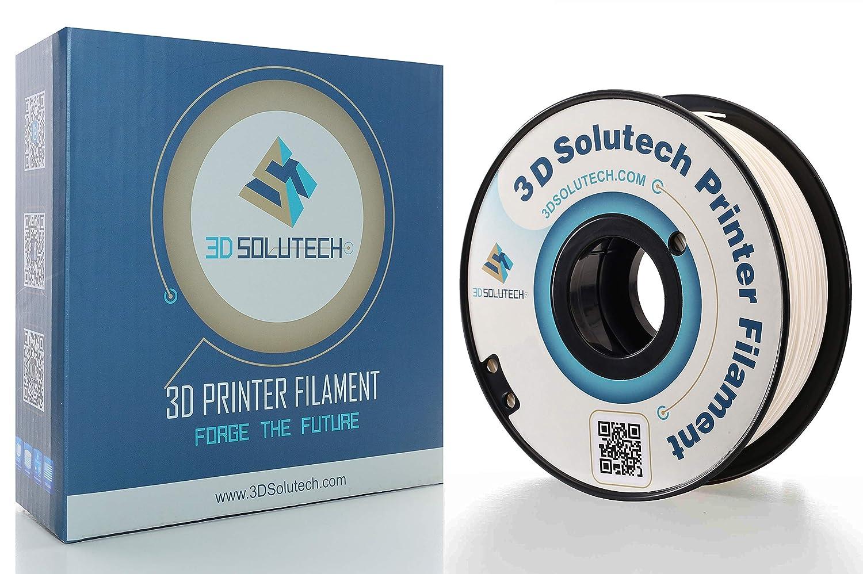 1.0KG 3D Solutech Real Black 1.75mm PETG 3D Printer Filament 2.2 LBS