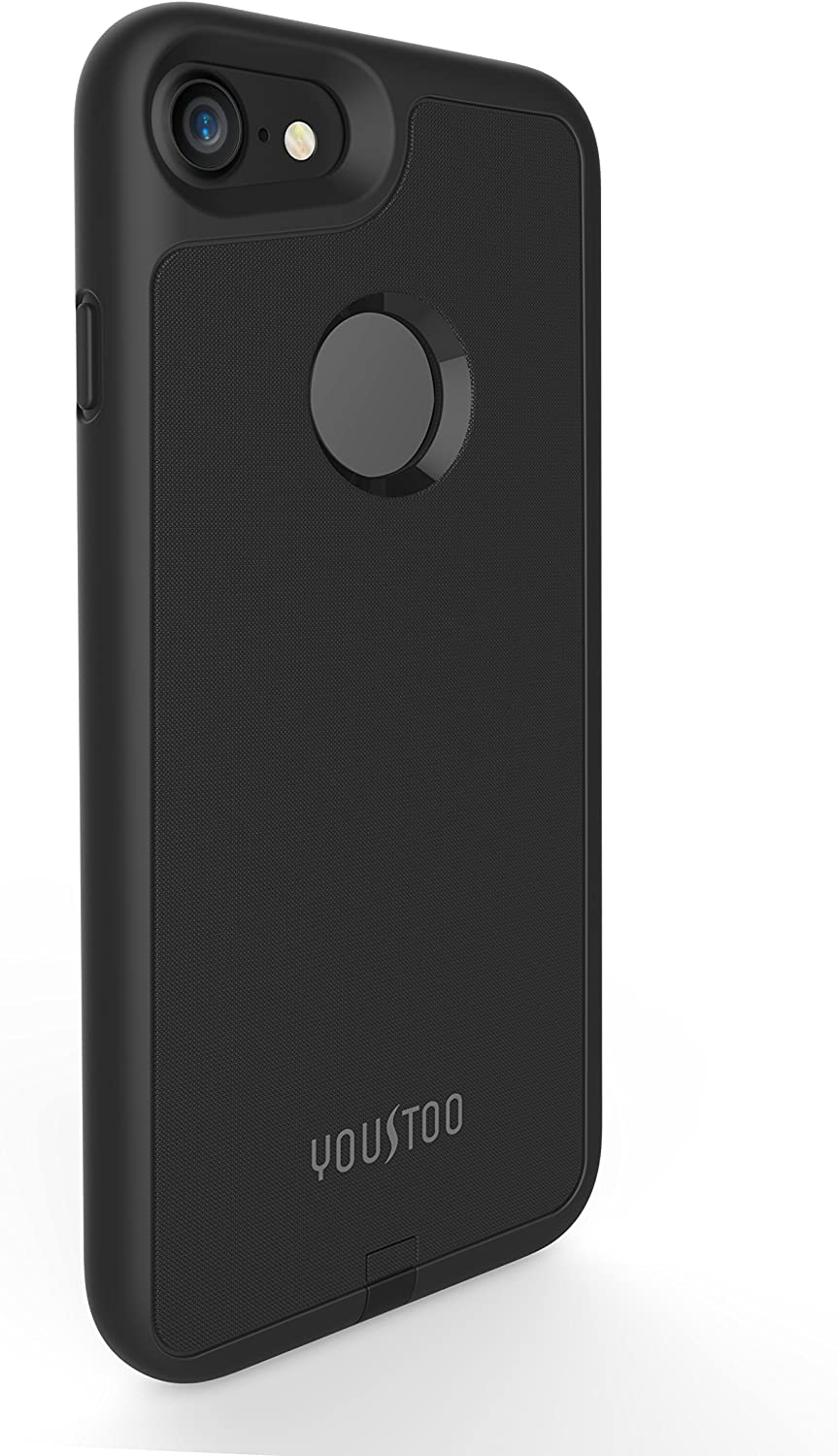 YOUSTOO iPhone 7 Wireless Charging Case, Qi Wireless Charger Charging Receiver Case Back Cover [No Built in Battery] [Not Magnetic] for iPhone 7