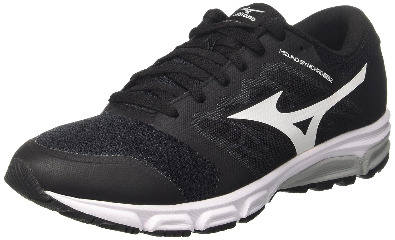 Mizuno Synchro MD, Zapatillas de Running para Hombre 44 EU|Multicolor (Black/White/Griffin)