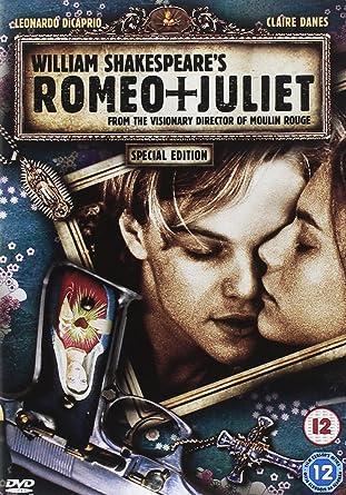 Romeo Juliet Dvd 1996 Amazoncouk Leonardo Dicaprio