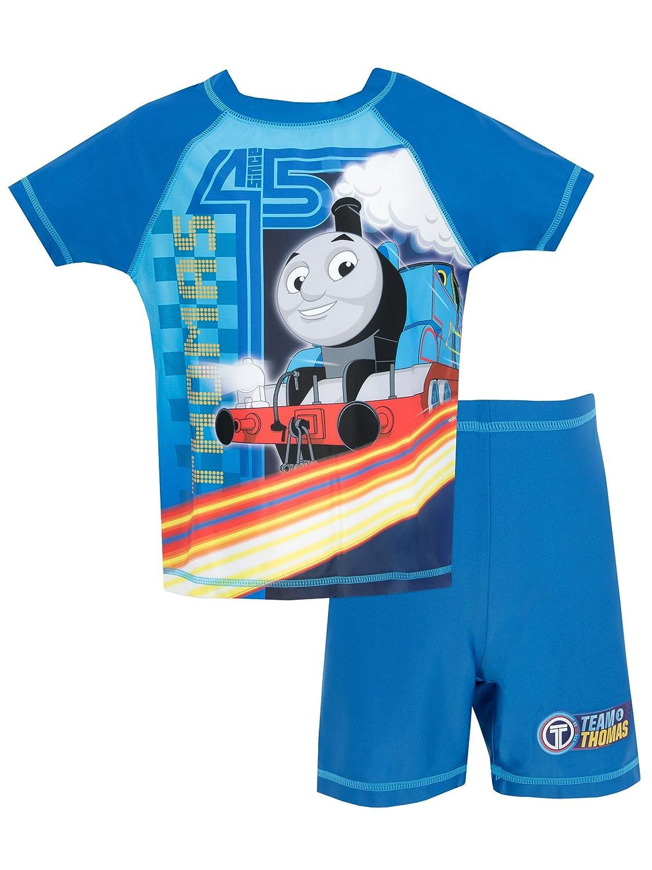 Thomas & Friends Il Trenino Thomas - Ragazzi Due Pezzi Costume da Bagno