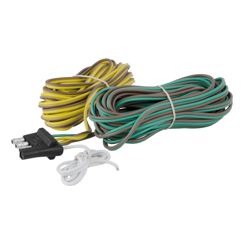 CURT 57220 4-Way Flat Trailer Connector