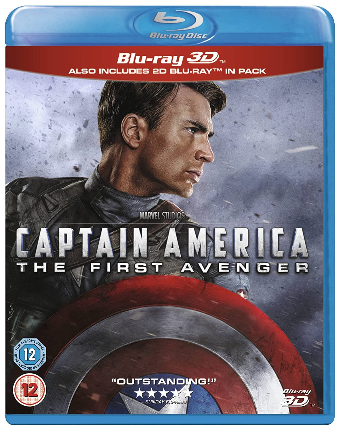 Captain America: First Avenger 3D BD Reino Unido Blu-ray: Amazon.es: Captain America: Cine y Series TV