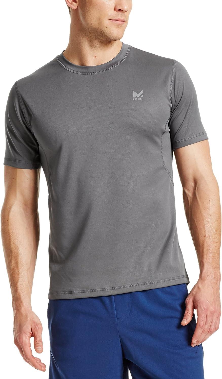 Mission Men's VaporActive Alpha Short Sleeve Athletic Shirt