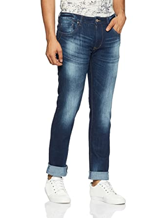 Flying Machine Men's (Michael) Slim Fit Tapered Leg Jeans Men's Jeans at amazon