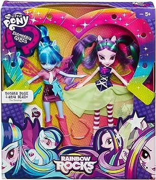 Amazon.es: My Little Pony - Pack de 2 Equestria Girl (Hasbro A9223EU4): Juguetes y juegos