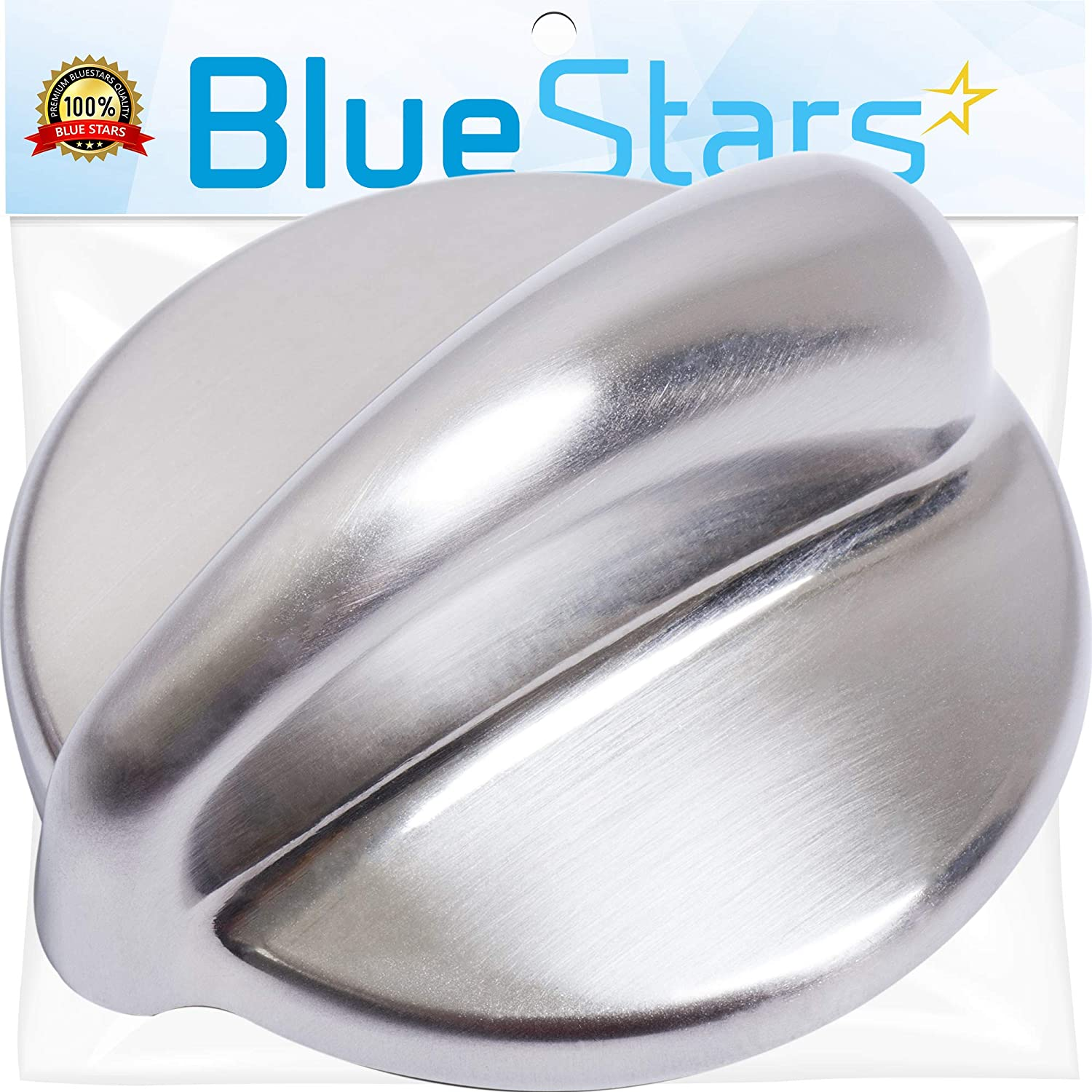 Ultra Durable WB03K10303 Cooktop Control Knob Replacement Part by Blue Stars- Exact Fit for General Electric Range - Replaces 1810427 AP4980246 WB03K10208