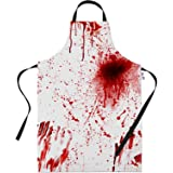 BBQ Apron Halloween Costume Bloody Butcher Novelty Aprons Cooking Gifts for Men